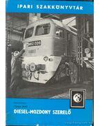 Diesel-mozdony szerelő