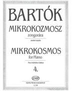 Mikrokozmosz zongorára 4.