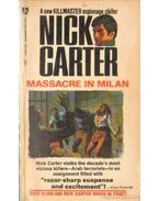 Massacre in Milan - Carter, Nick