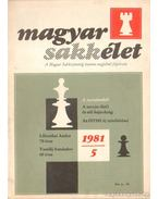 Magyar Sakkélet 1981 (hiányos)