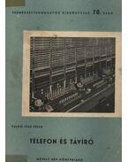Telefon és távíró