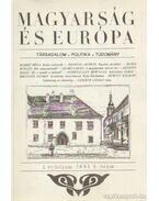 Magyarság és Európa 1993. I. évfolyam 1. szám