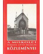 A Miskolci Herman Ottó Múzeum közleményei 27