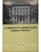 Az erdészeti és faipari egyetem tudományos közleményei 1964. év 2. szám