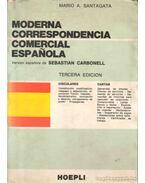Moderna correspondencia comercial Espanola