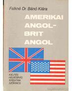 Amerikai angol - brit angol