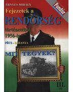 Fejezetek a rendőrség történetéből 1956-ig (Pécs-Baranya)