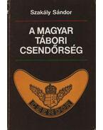 A magyar tábori csendőrség