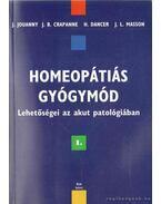 Homeopátiás gyógymód I. kötet
