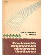 Fontosabb szántóföldi növények öntözése