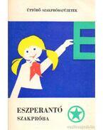 Eszperantó szakpróba