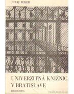 Univerzitná Kniznica v Bratislave