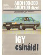 Így csináld! - Audi 100/200, Audi 100 dízel