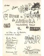 Öten az Új Aurora munkatársai közül