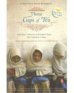 Three cups of tea (angol-nyelvű)
