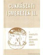 Cukrászati ismeretek II.