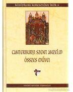 Canterburyi Szent Anzelm összes művei