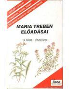 Maria Treben előadásai 12 kötet.