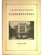 Veszprém megyei múzeumok tájékoztatója