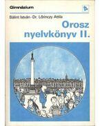 Orosz nyelvkönyv II.