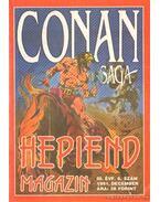Conan saga 1991. december III. évfolyam  6. szám