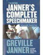 Janner's complete speechmaker (angol-nyelvű)
