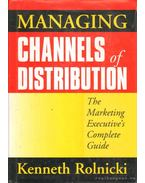Managing Channels of Distribution