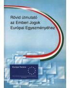 Rövid útmutató az Emberi Jogok Európai Egyezményéhez
