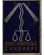 A magyarság évkönyve 1934.
