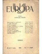 Uj Európa 1944 április 4. szám