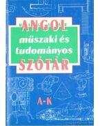 Angol-Magyar műszaki és tudományos szótár I-II. kötet ( L-Z  A- K)