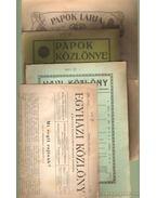 Egyházi újságok (4 db)