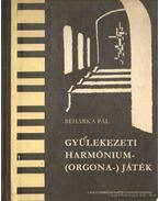 Gyülekezeti harmónium-(orgona-) játék