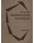 Szlovák szakkifejezések gyűjteménye - Szabó Gyula