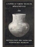 A tapolcai városi múzeum közleményei 1. 1989
