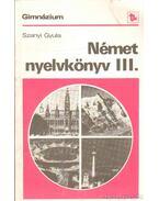 Német nyelvkönyv III.