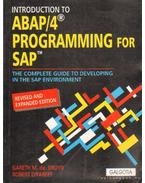 ABAP/4 programming for SAP