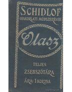 Schidlof gyakorlati módszerének magyar-olasz zsebszótára (mini)