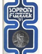 Soproni Füzetek '91 (dedikált)