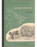 Elektrotechnika III. Pédatár
