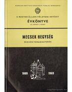 A magyar állami földtani intézet évkönyve  LII. kötet 1. füzet - Mecsek hegység