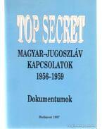 Magyar-Jugoszláv Kapcsolatok 1956-1959