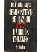Háborús emlékek 1877-78-ból
