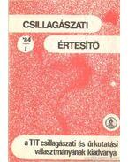 Csillagászati értesítő 84/1 - Schalk Gyula