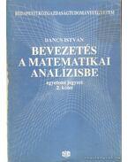Bevezetés a matematikai amalízisbe 2. kötet