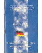 Német vonzatos igék és melléknevek