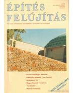Építés, felújítás 1997/2