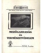 Mezőgazdaság és természetvédelem 1994. 1. szám