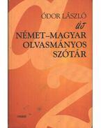 Német-magyar olvasmányos szótár