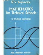 Mathematics for Technical Schools